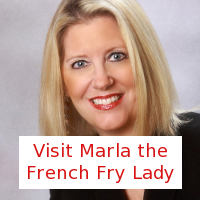 marla the french fry lady